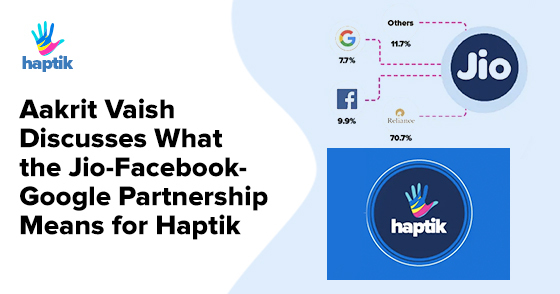 Jio-Facebook-Google Partnership