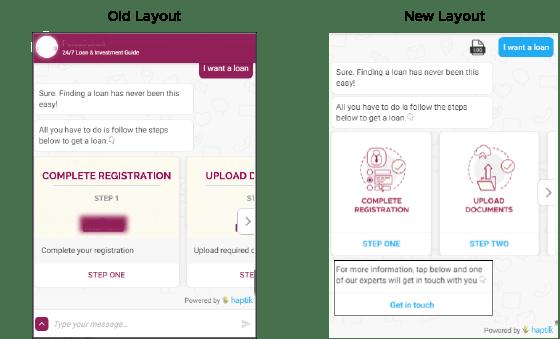 UI-changes