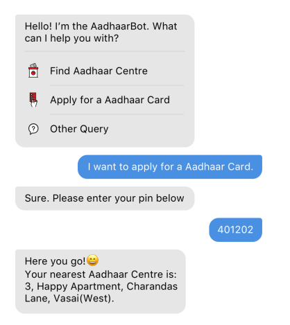 Government ID Card Chatbot