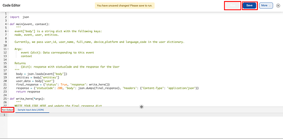 code-executor-haptik-platform