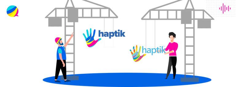 Haptik-new-look