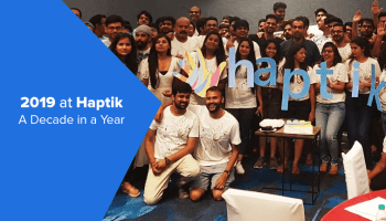 2019 at Haptik - A Decade in a Year thumbnail