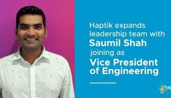 Haptik Expands Leadership Team with Saumil Shah Joining as Vice President of Engineering-Thumbnail