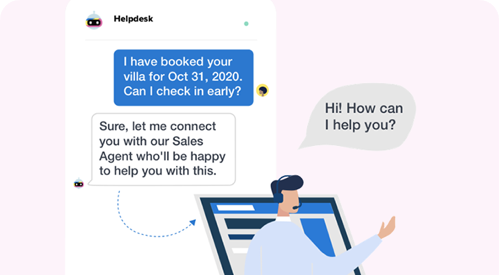 knowledge-center-customer-service-chatbots