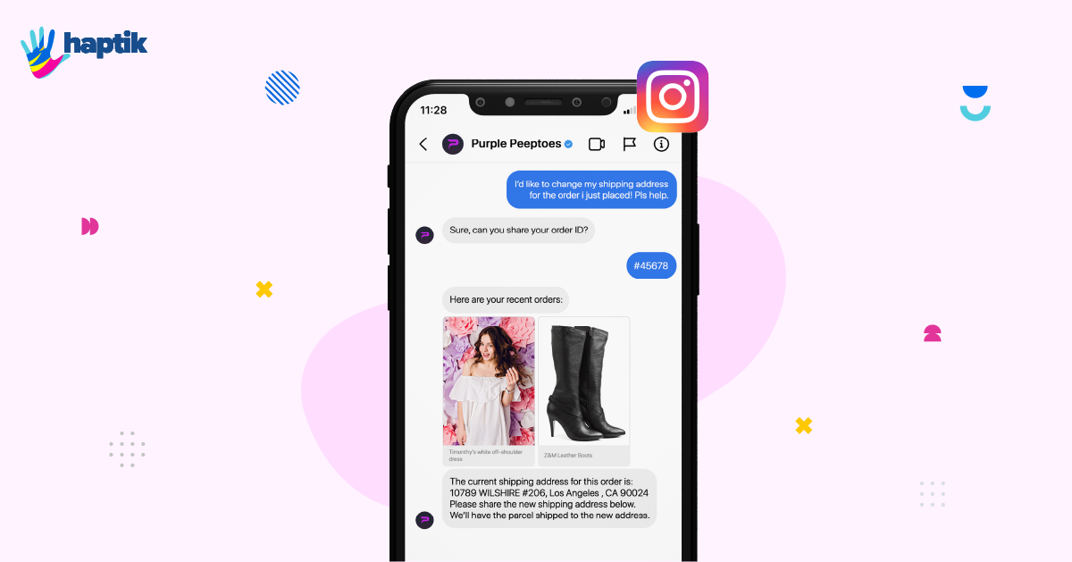 Create impactful support experiences with Instagram Chatbots