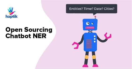 Open Sourcing Chatbot NER